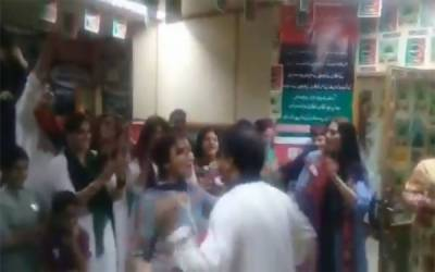 (VIDEO): PIA Airhostesses dancing to the tunes of Indian songs