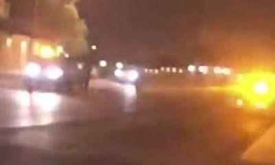 Drone shot down in Riyadh, Saudi Arabia