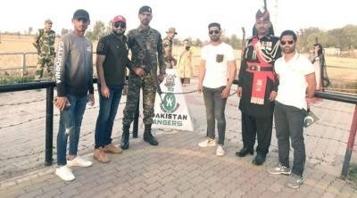 India's unexpected response at Hasan Ali's performance at Wagah border