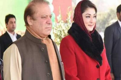 Nawaz Sharif, Maryam Nawaz leave for Pakistan