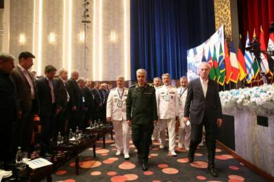 Iran holds biggest ever international military summit of its history