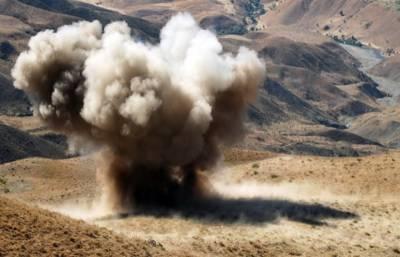 Landmine blast in western Iran