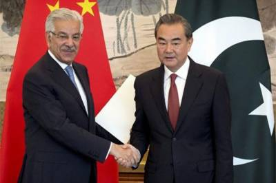 Pakistan China Foreign Ministers meet in Beijing