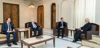 Pakistan's Ambassador meets Syrian President Bashar ul Asad in Damascus