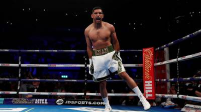 (VIDEO): Former World Champion Amir Khan back with big bang in just 39 seconds