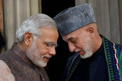 Hamid Karzai warns PM Modi over love for US