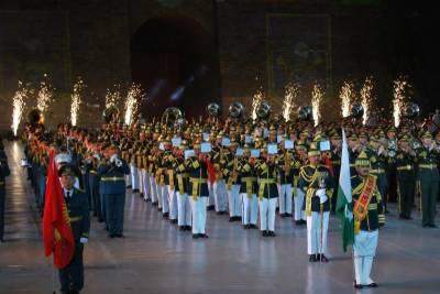Pakistan Military Band outperforms others in SCO 5th