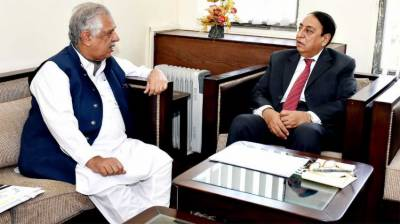 Rana Afzal meets Governor KP in Islamabad