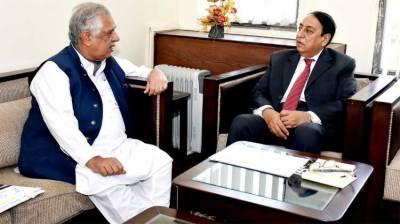 Rana Afzal meets Governor KP in Islamabad