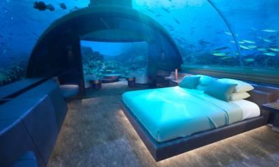 World's first underwater Villas unveiled