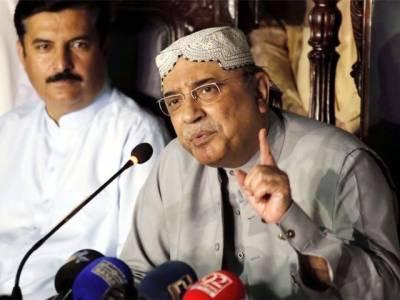 Asif Zardari rings alarm bells for Sharifs