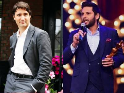 Canadian PM Justin Trudeau has a message for Shahid Afridi and Pakistanis