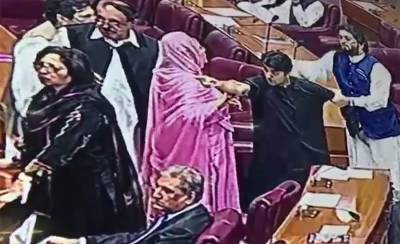 Fierce clash in National Assembly between PTI and PMLN lawmakers