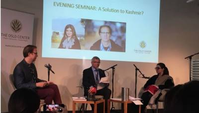 Former Norwegian PM raises strong voice over Indian atrocities in Occupied Kashmir