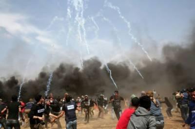 Israeli military martyrs 3 more Palestinians on Gaza border