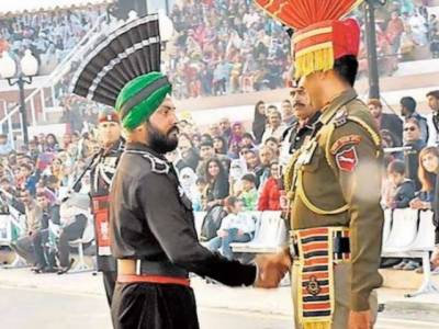 Dalwinder Singh returned to Indian BSF at Wagah