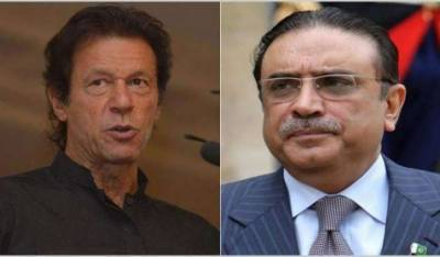 Asif Zardari hints at post elections alliance with Imran Khan