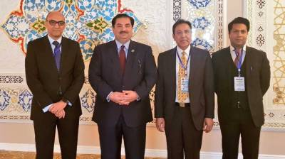Pakistan Defence Minister attends high level Counter Terrorism Conference in Tajikistan