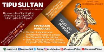 Pakistan praises while India laments the great warrior Tipu Sultan