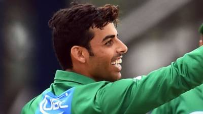Pakistan's Shadab Khan made a historic record in England today