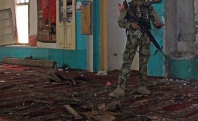 Afghan Taliban condemn deadly suicide attack in a mosque in Afghanistan