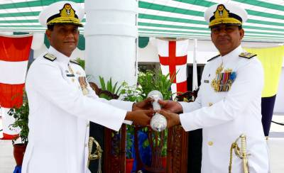 Rear Admiral Asif Khaliq takes over as Commander Karachi