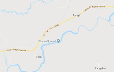 Road accident kills 3 on Rawalpindi-Kohat Road
