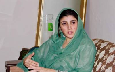 Ayesha Gulalai is back in action again