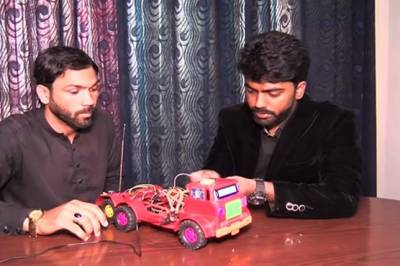 Balochistan University students invent unique rescue alert system