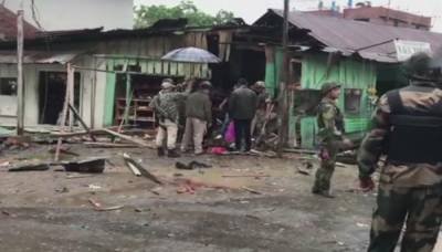 Bomb blast at BSF Headquarters in India, Atleast 7 soldiers killed and injured