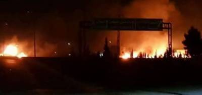 Israel strike weapons depot in Syria, 8 Iranians reportedly killed