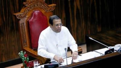 Sri Lanka leader calls for end to power struggle after defections