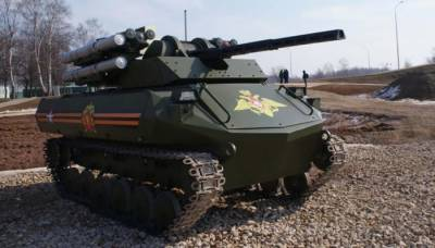 Uran 9: Russia unveils armed Robots in Syria