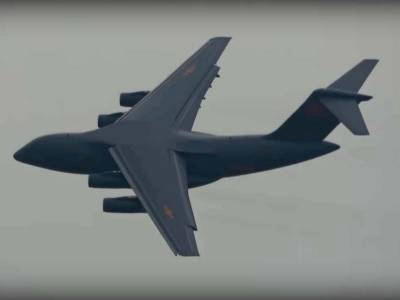 (VIDEO): China stuns world with heavy military transport plane