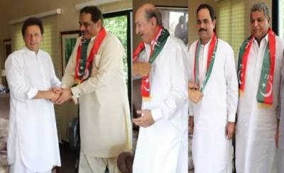 Three more lawmkers from PML N Punjab join PTI