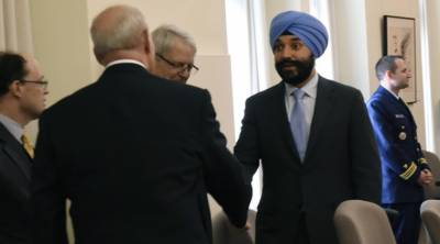 Canadian Sikh Minister humiliated at American Airport