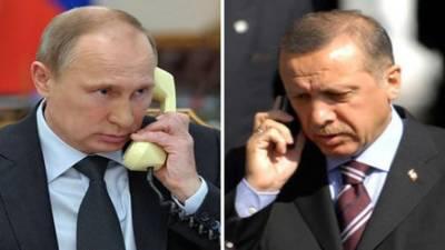 Erodgan phones Putin, discuss ME situation