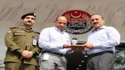IG Sindh visits PSCA Hqrs in Lahore