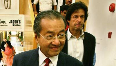 Imran Khan's message for PM Mohathir Mohammad, his hero