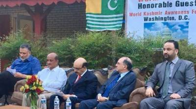 Masood lauds Kashmiri community for commitment to Kashmir cause