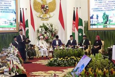 Pakistan Afghan and Indonesian religious Ulema denounce terrorism in Jakarta Declaration