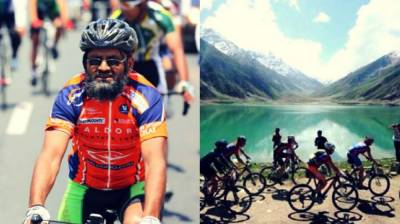 Pakistan holds the toughest cycle race of the World History