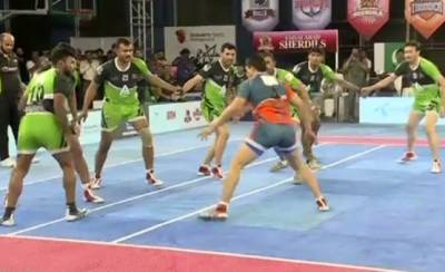 Pakistan super Kabadi league final: Gujrat warriors beat Faisalabad Sherdils