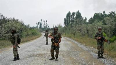 Police security post attacked in occupied Kashmir, Atleast one soldier dead