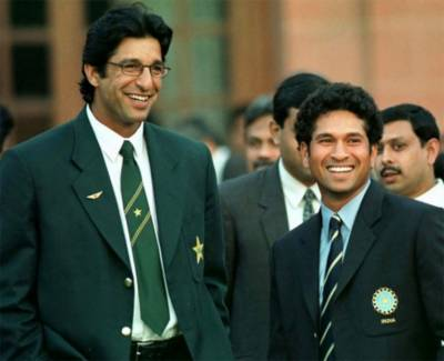 Sachin Tendulkar reveals his experience of playing against Wasim and Waqar in his debut test innings in Karachi