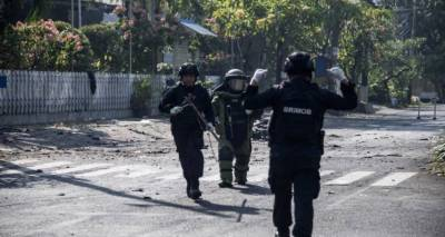 Church attacks kill 13 in Indonesia