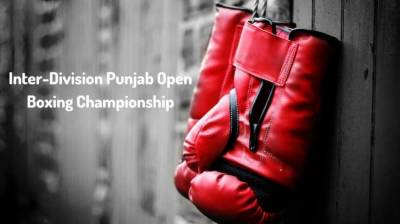 Inter-division Punjab Open Boxing Championship begins in Lahore