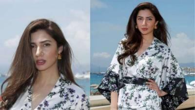 Mahira Khan at Cannes debut: