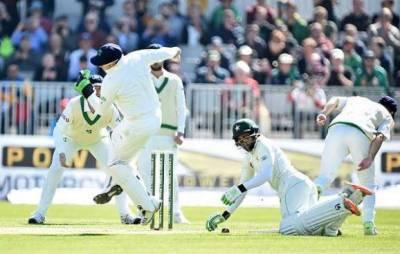 Pakistan escapes embarrassment at historic test against Ireland