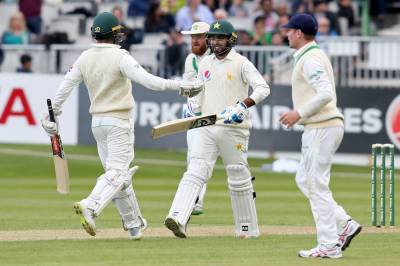Pakistan grills Ireland in historic debut test